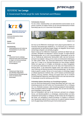 Downloads Referenzblatt krz-lemgo